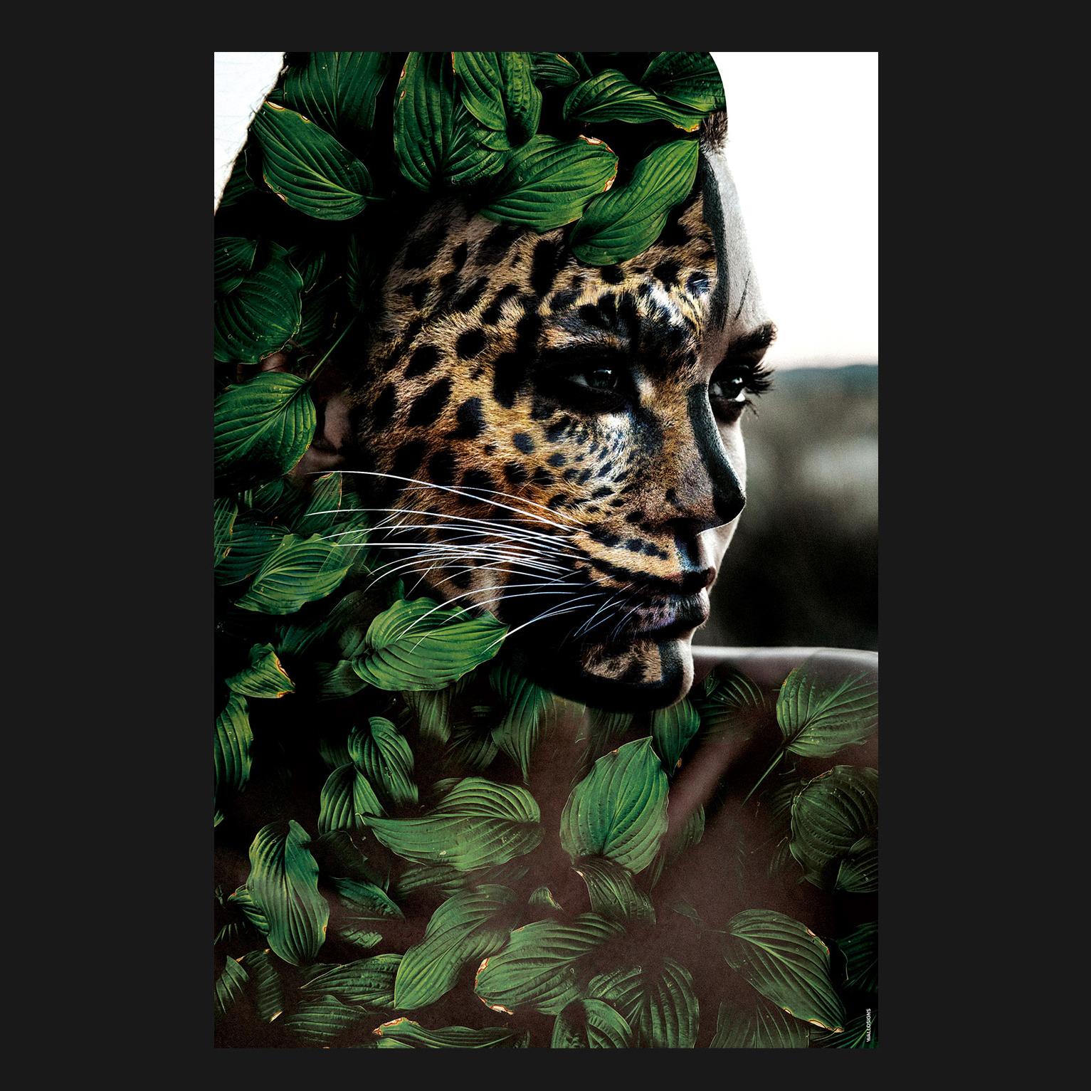 Jungle Woman   Walldsigns